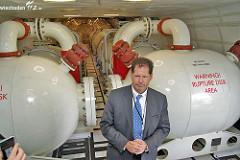 Evergreen Supertanker in Hahn 24.07.09
